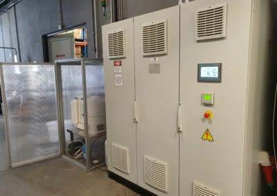 Supply of a high purity hydrogen production system to CEPSA